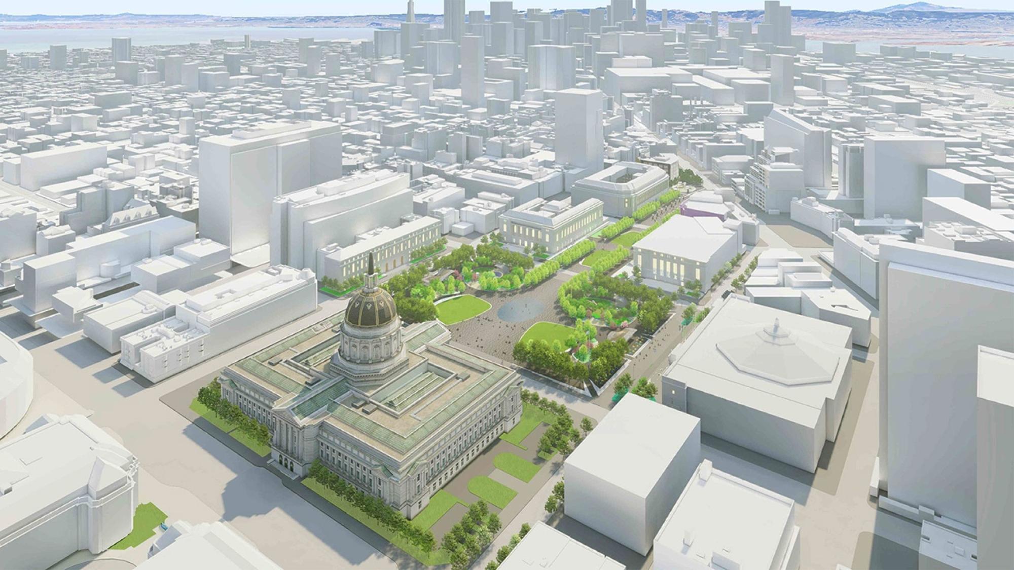 Public Space Design Landmark District
